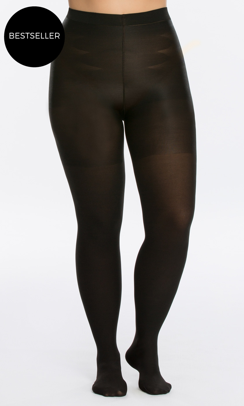 Plus size tights for women by spanx for Plus size spanx for wedding dress