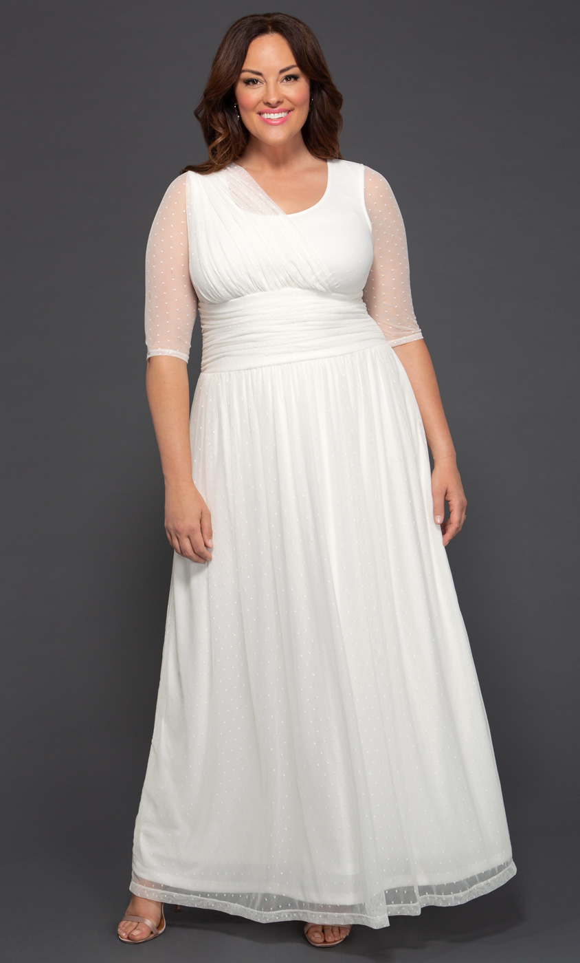 23b35bed11 Plus Size Wedding Dresses for Women
