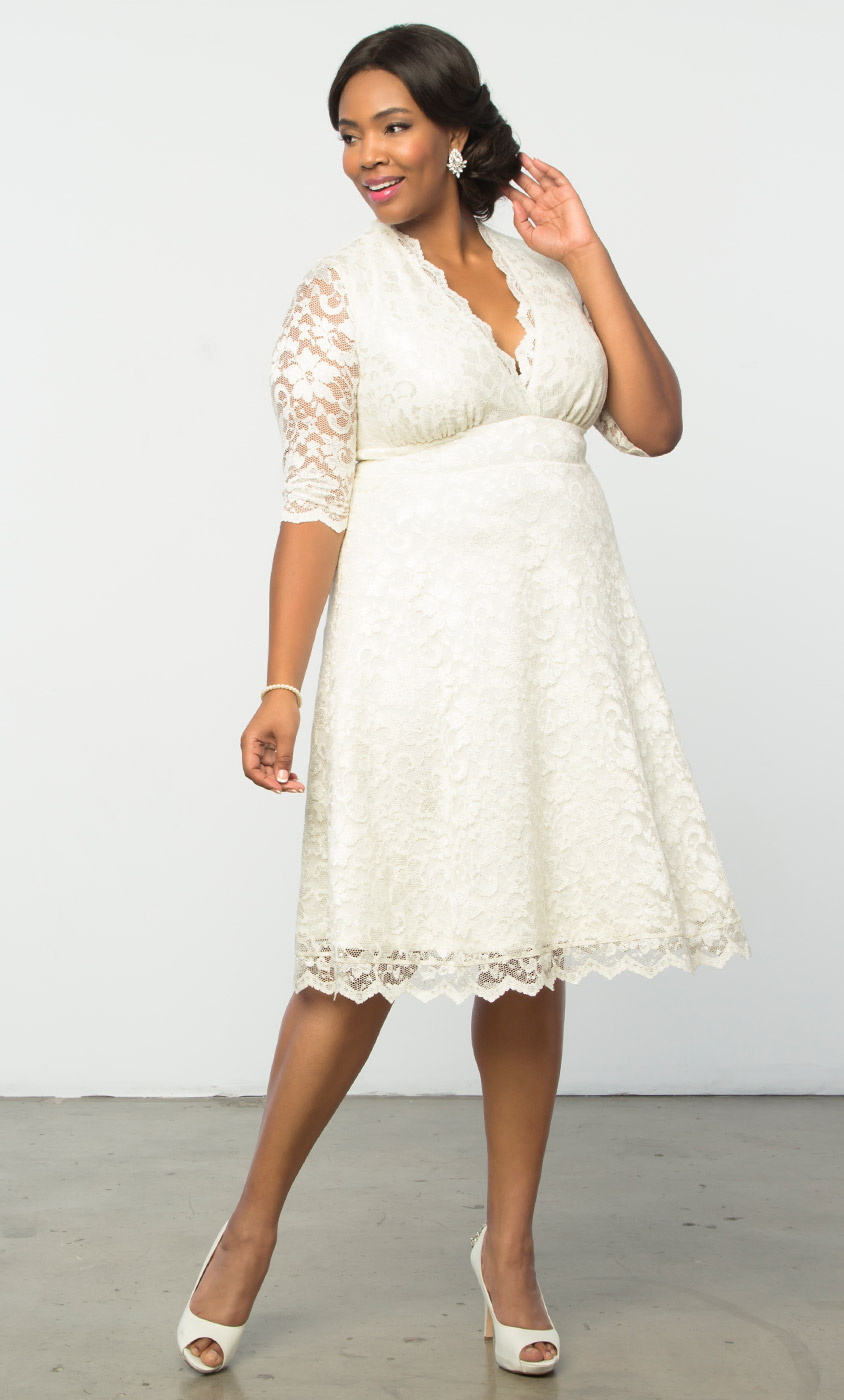 Women&-39-s Plus Size Wedding Dresses and Gowns - Kiyonna