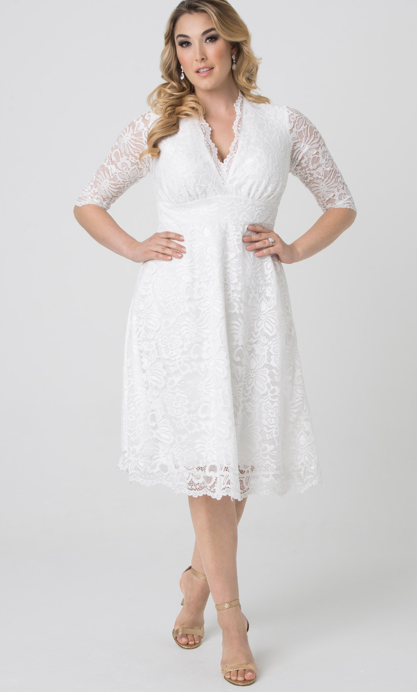 Wedding belle dress kiyonna clothing for Plus size wedding dresses online usa