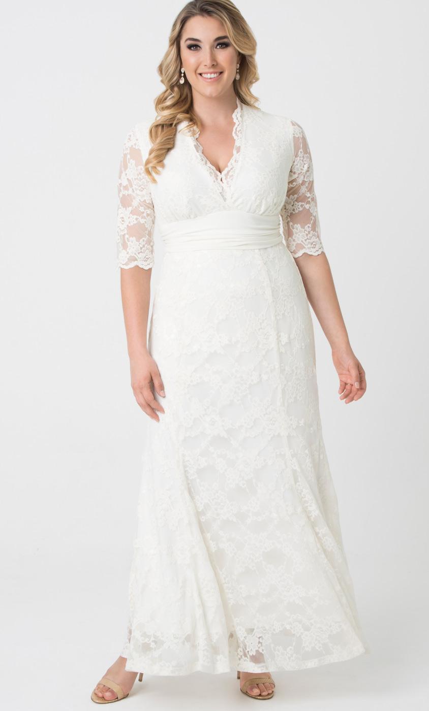 Plus Size Wedding Dresses For Women Kiyonna Clothing
