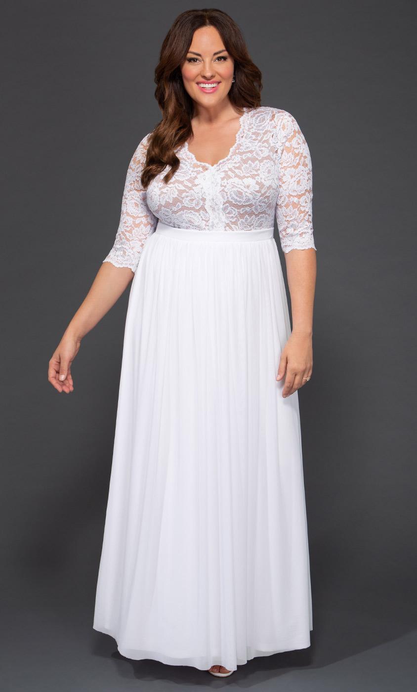 Women Casual Plus Size Dresses Wedding Party