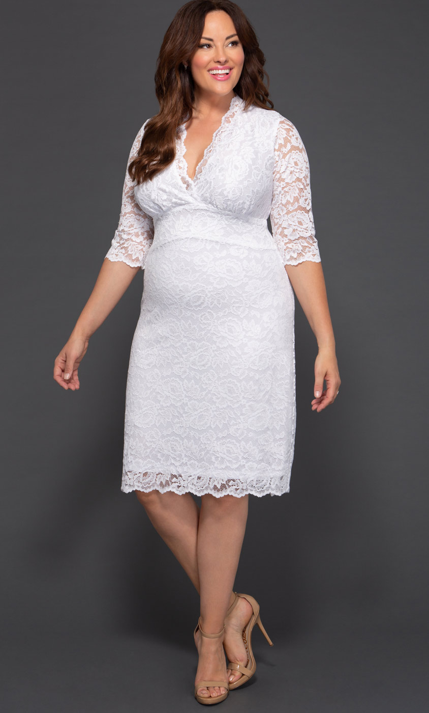 Plus Size Wedding Dresses For Women Kiyonna Clothing