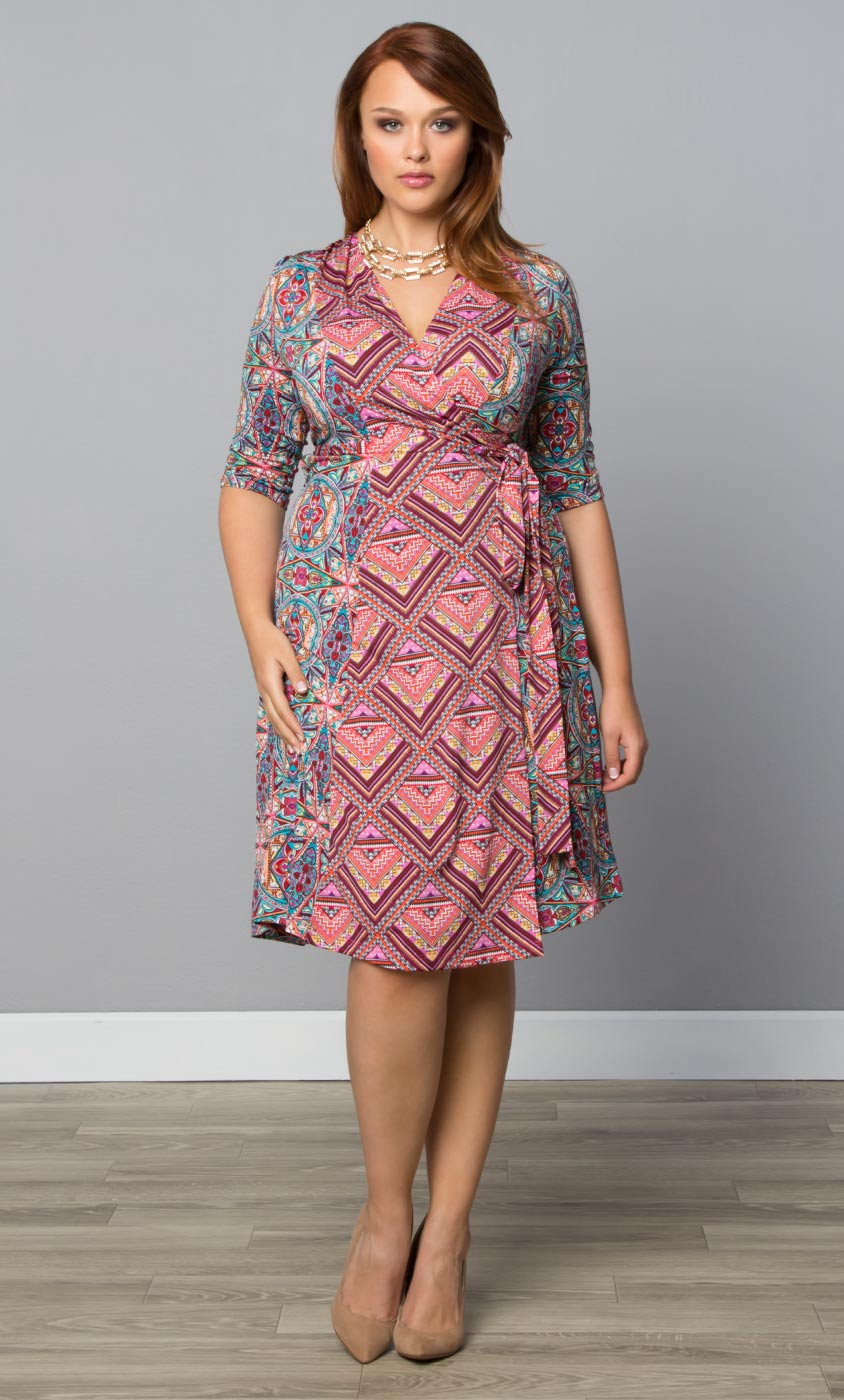 Womens Wrap Dress