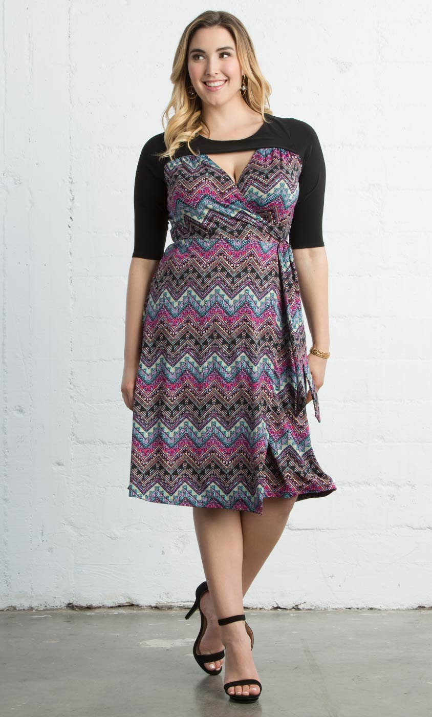 Winsome Wrap Dress-Sale!