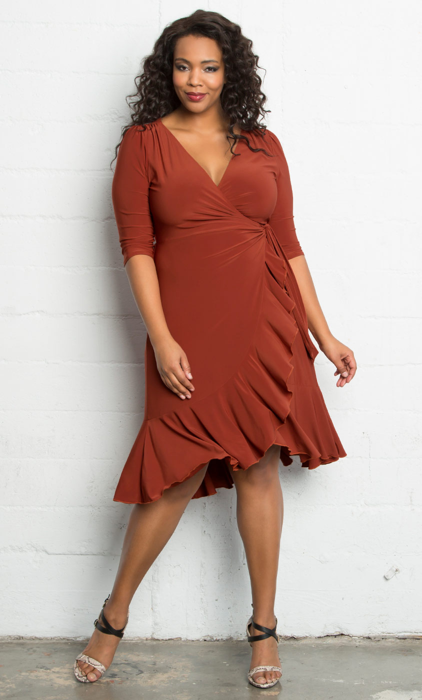 Whimsy Wrap Dress-Sale!