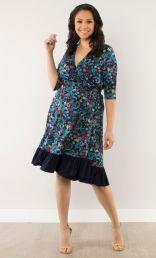 Flora Flounce Dress