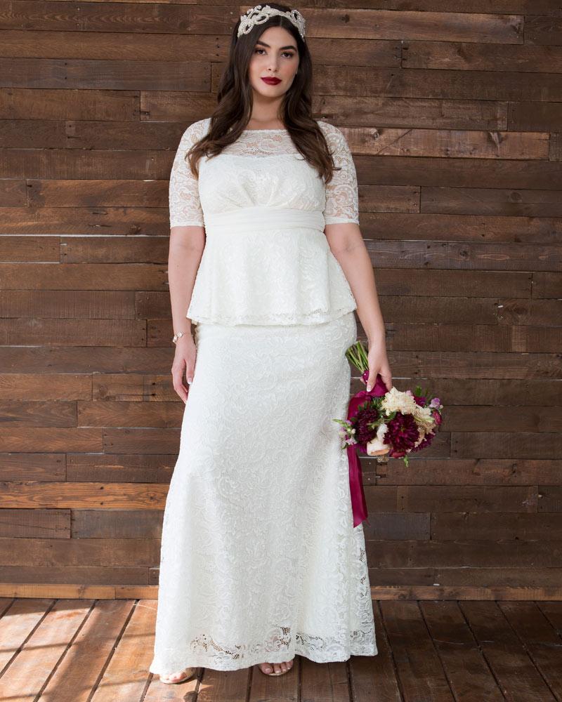 9779b922d02 Plus Size Wedding Gowns