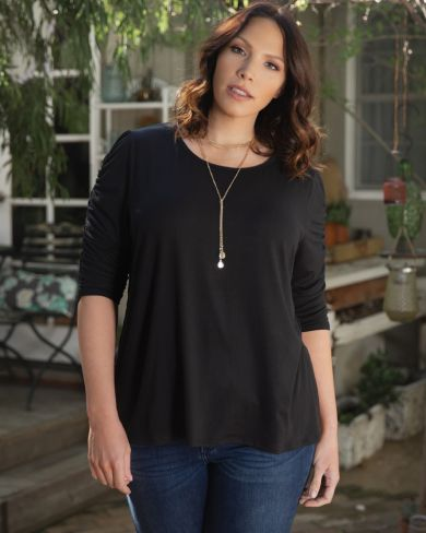 26e01bfd36e Womens Plus Size Tops and Blouses| Kiyonna Clothing