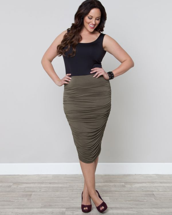 Riley Ruched Skirt-Sale!