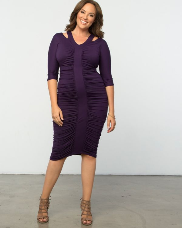 Riveting Ruched Dress-Sale!