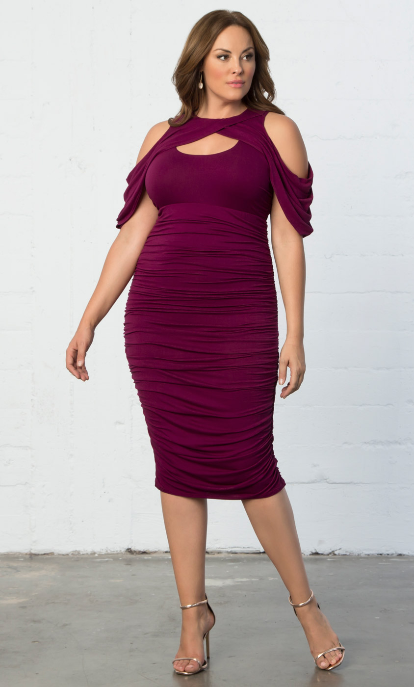 Plus Size Cocktail Party Dresses: Evening Wear by Kiyonna