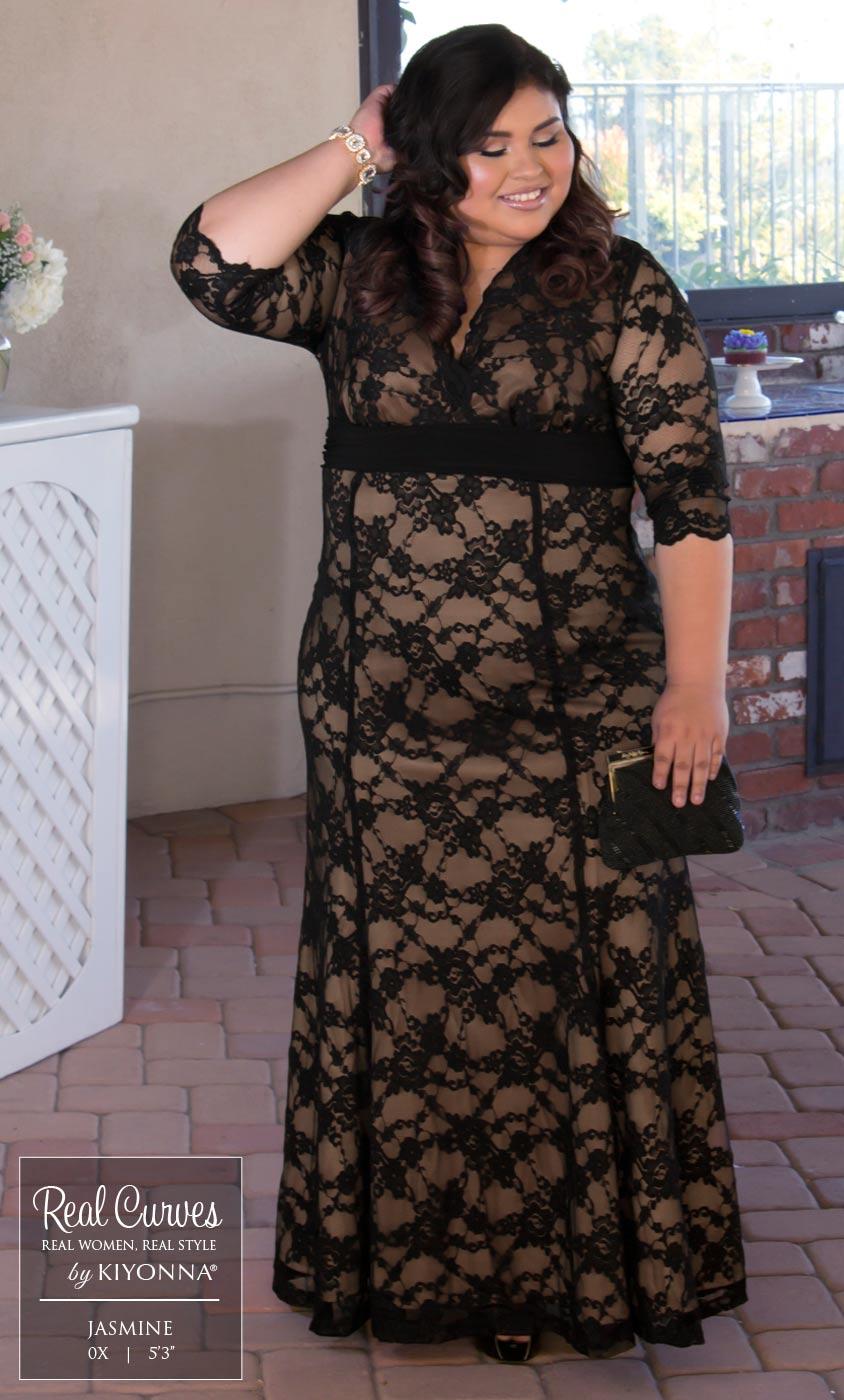 Plus Size Special Occasion Dress | Kiyonna's Plus Size ... - photo #22
