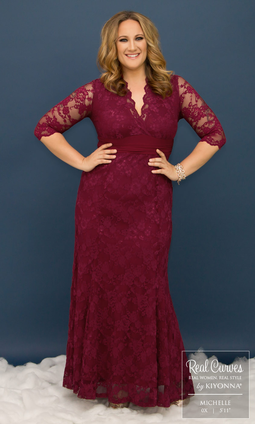 Plus Size Special Occasion Dress | Kiyonna\'s Plus Size Formal Gowns
