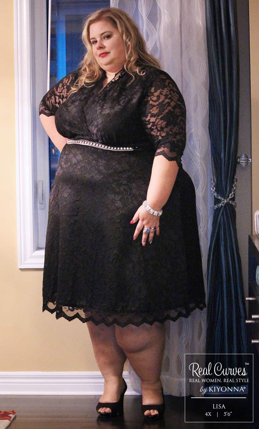 Plus Size Cocktail Dresses Mademoiselle Lace Dress