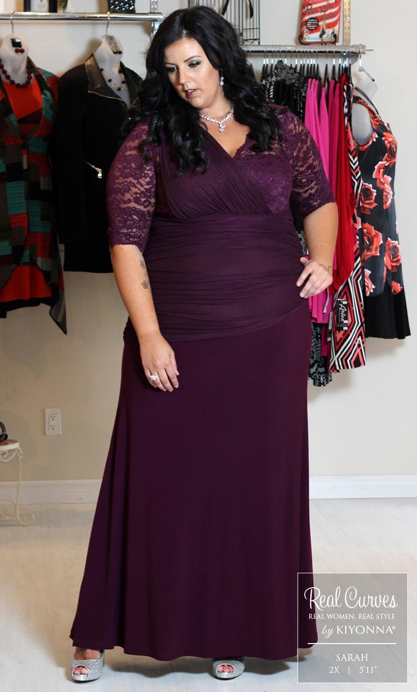 Soiree Evening Gown | Women\'s Plus Size Formal Dress