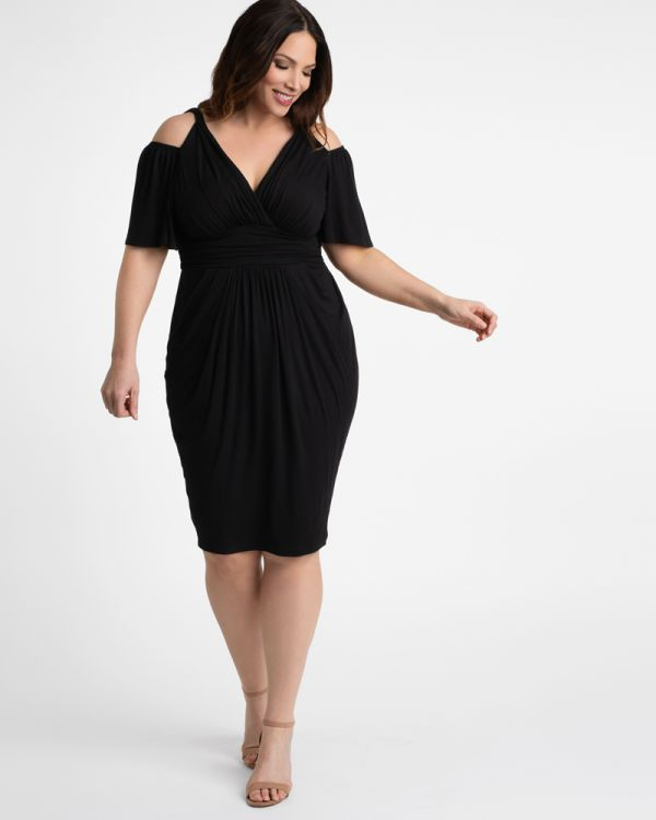 Tantalizing Twist Dress