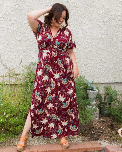 Plus Size Maxi Dresses   Plus Size Long Dresses Online   Kiyonna ...