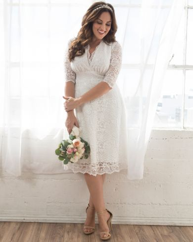 Plus Size Wedding Dresses and Bridal Gowns | Kiyonna Clothing