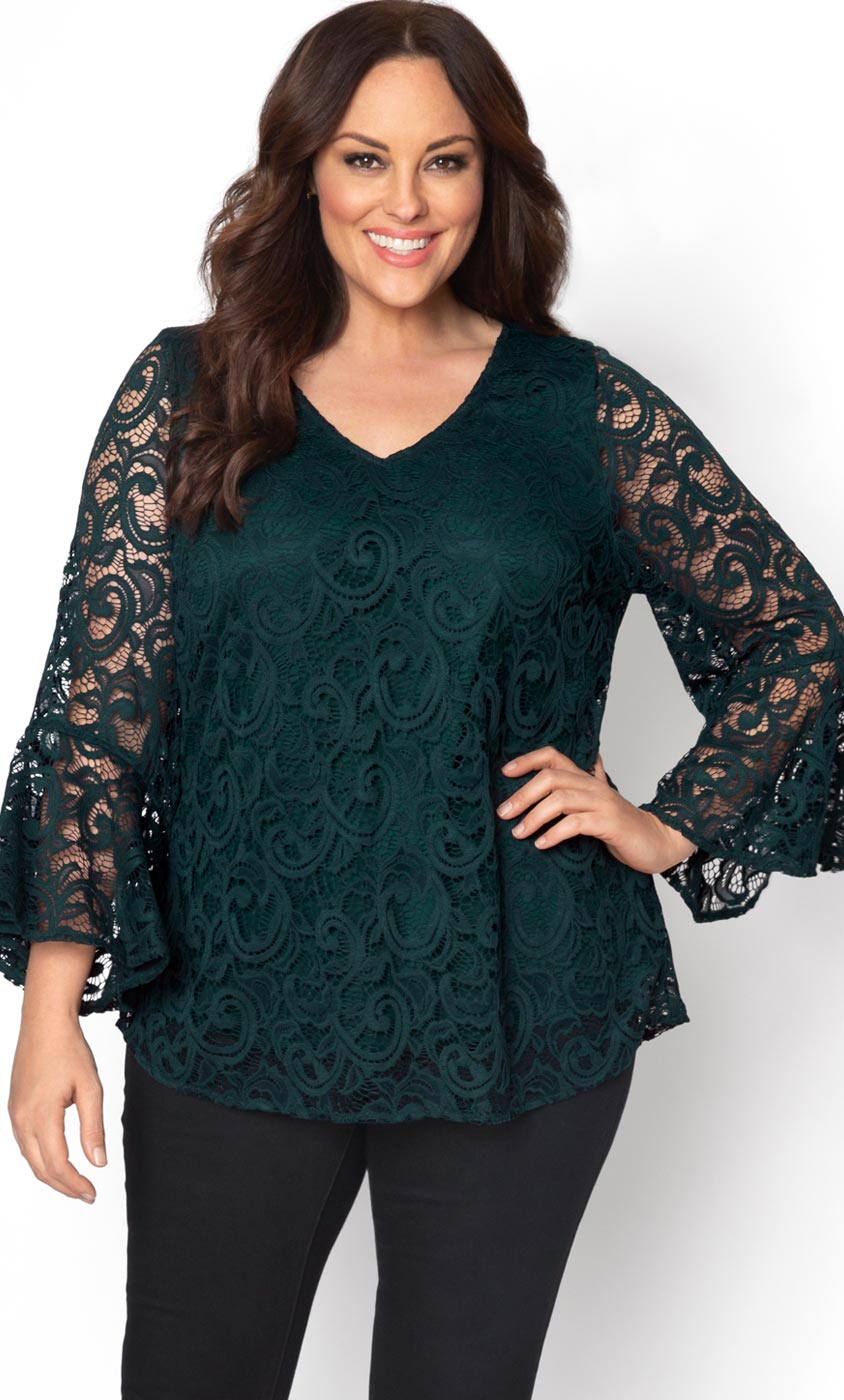 Womens Plus Size Tops And Blouses Kiyonna Clothing