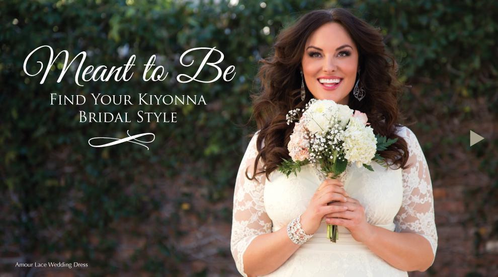 Kiyonna's Bridal Lookbook 2015