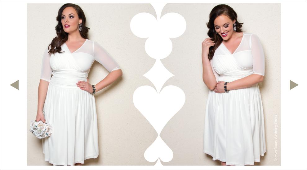 Vegas Wedding Dresses for Plus Size