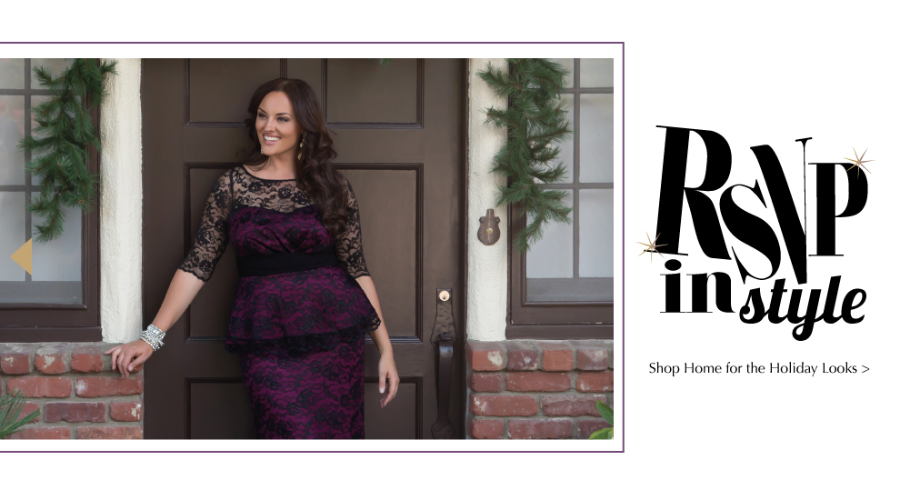 Elegant Holiday Looks for Plus Size Women