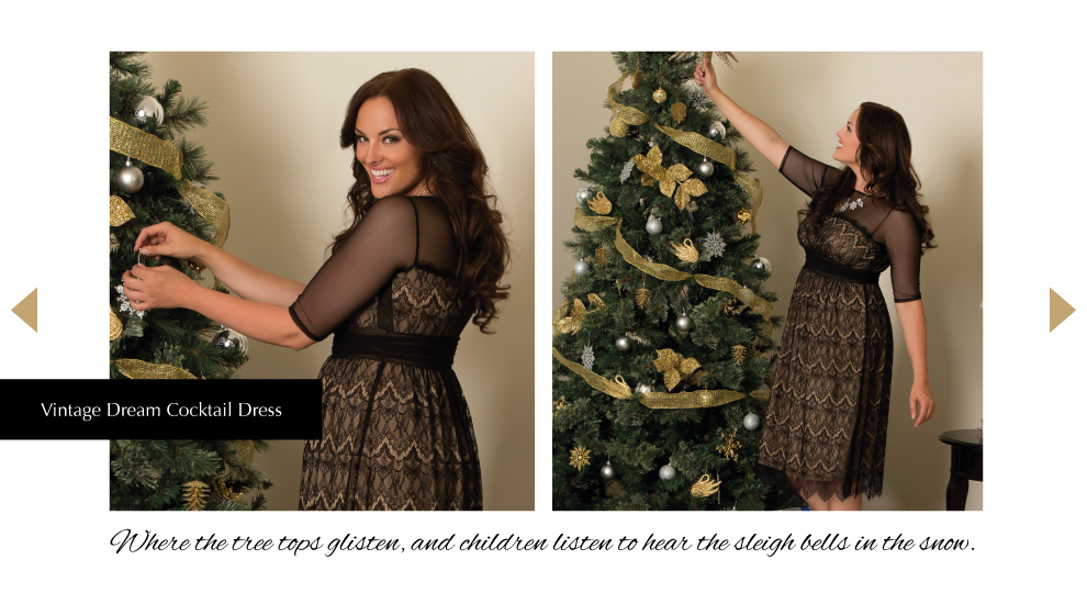 Find your Holiday look with Kiyonna Clothing.