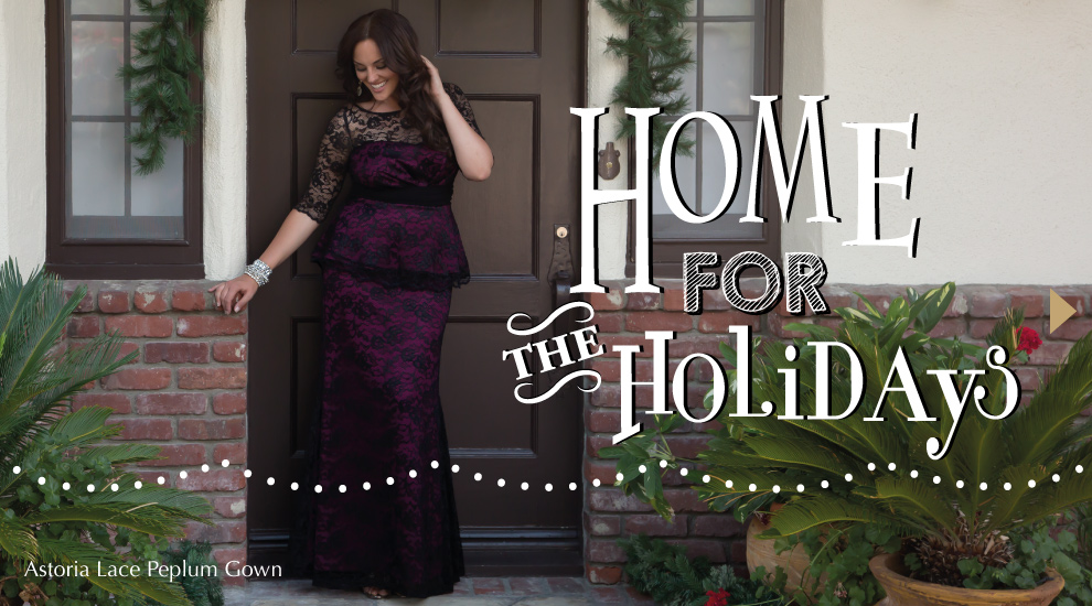 Kiyonna Home for the Holidays Lookbook