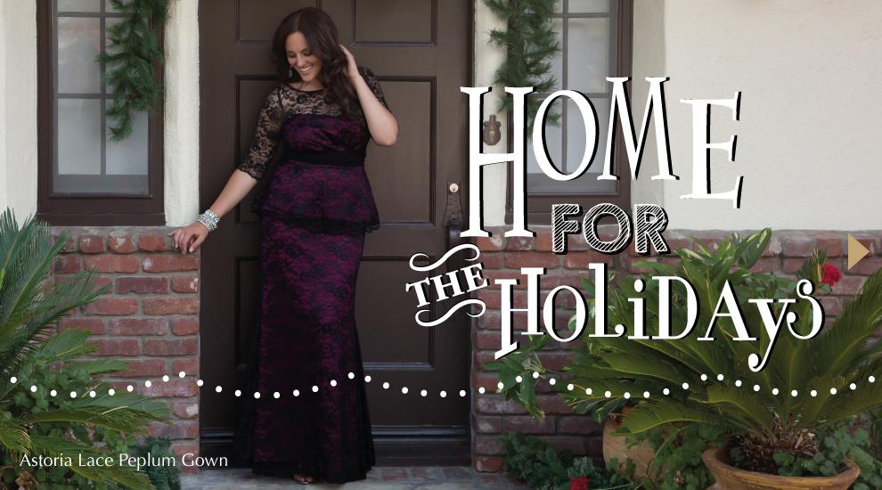 Kiyonna Home for the Holidays Lookbook