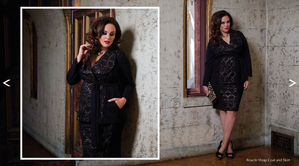 Plus Size Holiday Evening Wear