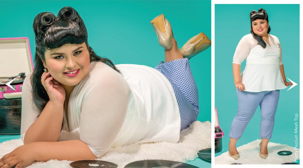 Peplum Tops for curvy women