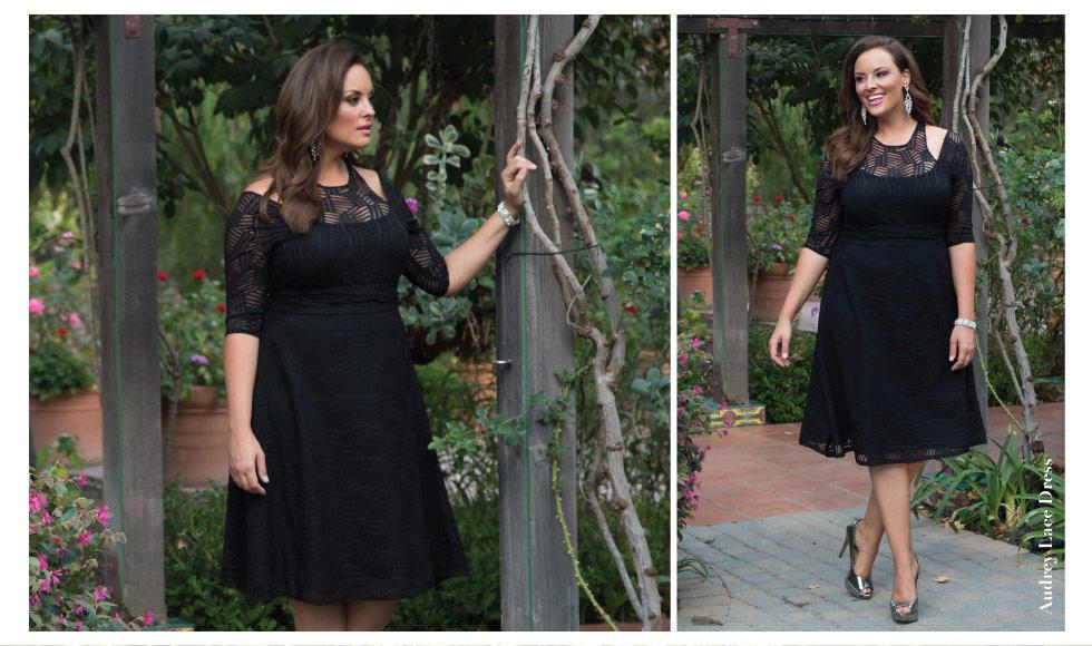 Plus Size Lace Cocktail Dresses