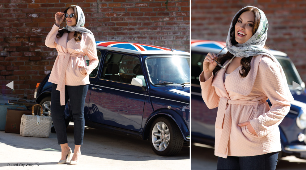 Plus Size Trendy Outerwear