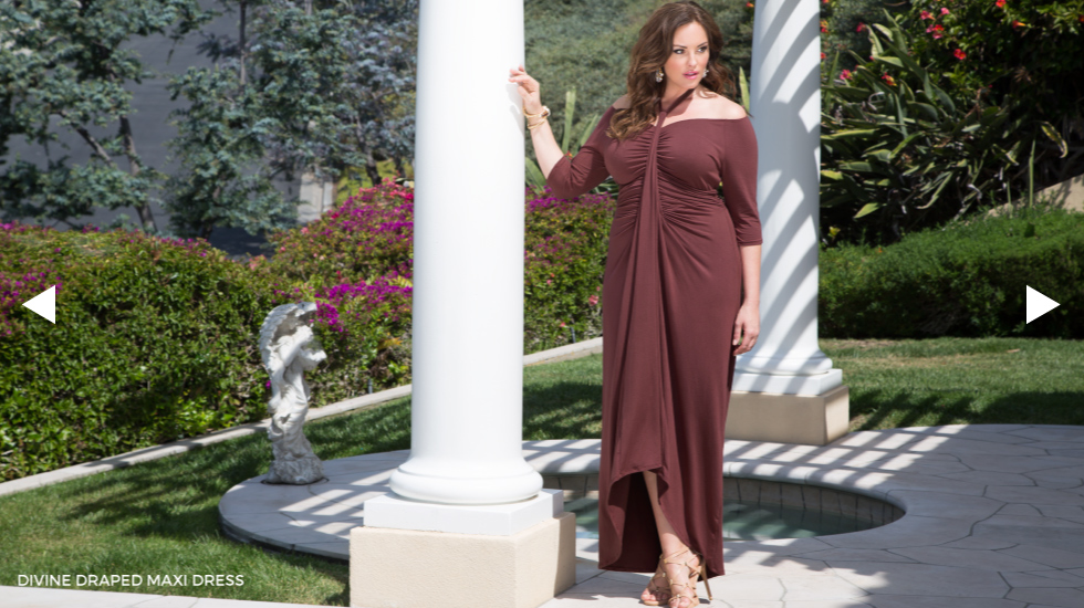Plus Size off the shoulder dresses