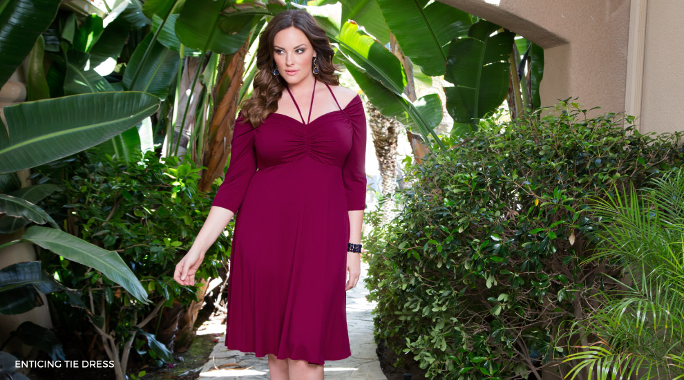 Off the shoulder dresses for curvy women