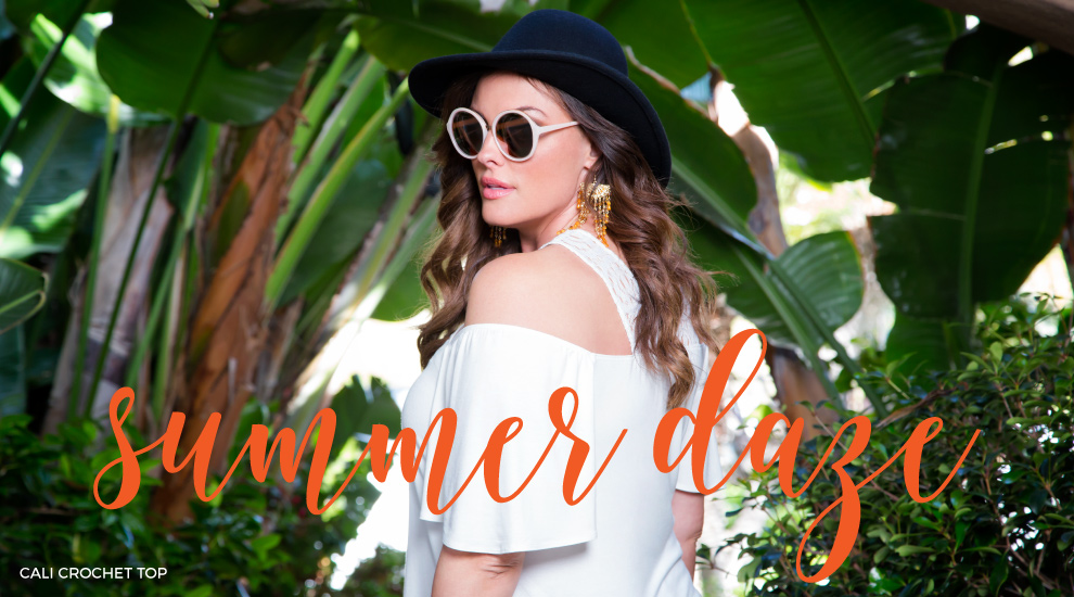 Women's plus size clothing for summer 2016 lookbook