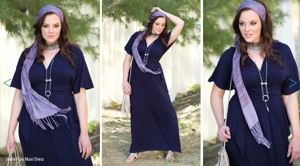 Boho Style Plus Size Dresses for summer