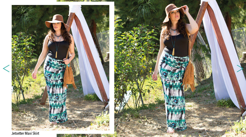 Plus Size Trendy Long Skirts