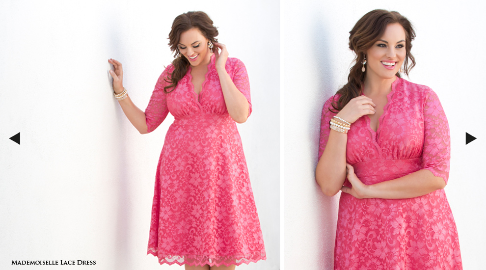 Plus Size A Line Dresses with Sleeves