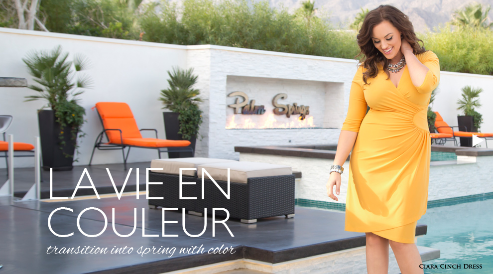 Women's plus size clothing on-trend for 2016 look book