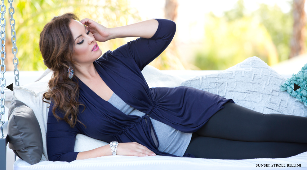 Plus Size Cardigans in Navy