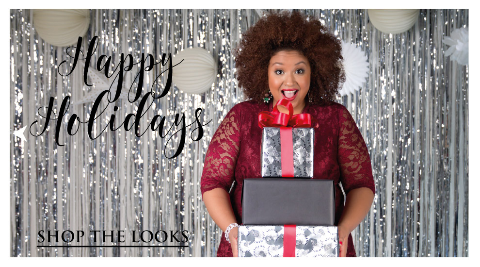 Plus size clothing holiday outfits