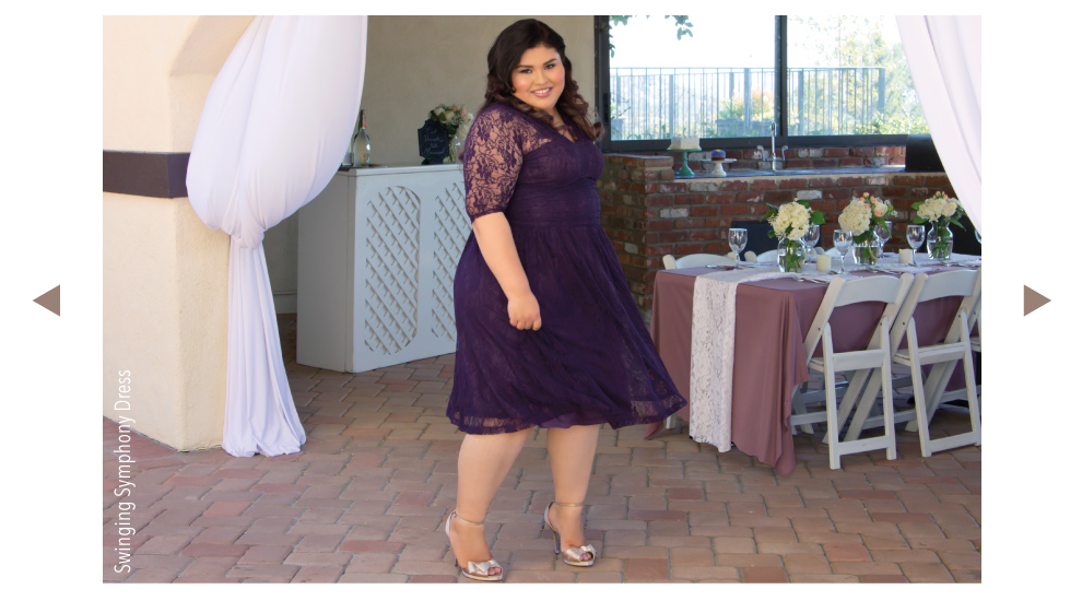 Kiyonna Clothing Plus Size Wedding Guest Lookbook 2015