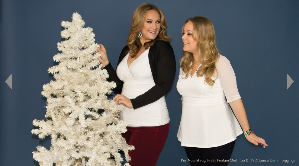 Plus Size Tops for the Holidays