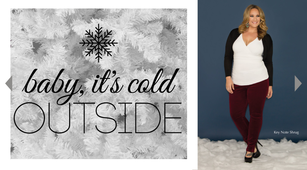 Plus Size Cozy Outfits for the Holidays
