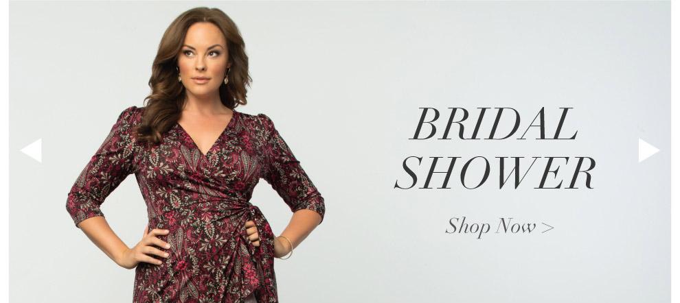 Bridal Shower Dresses for plus size women
