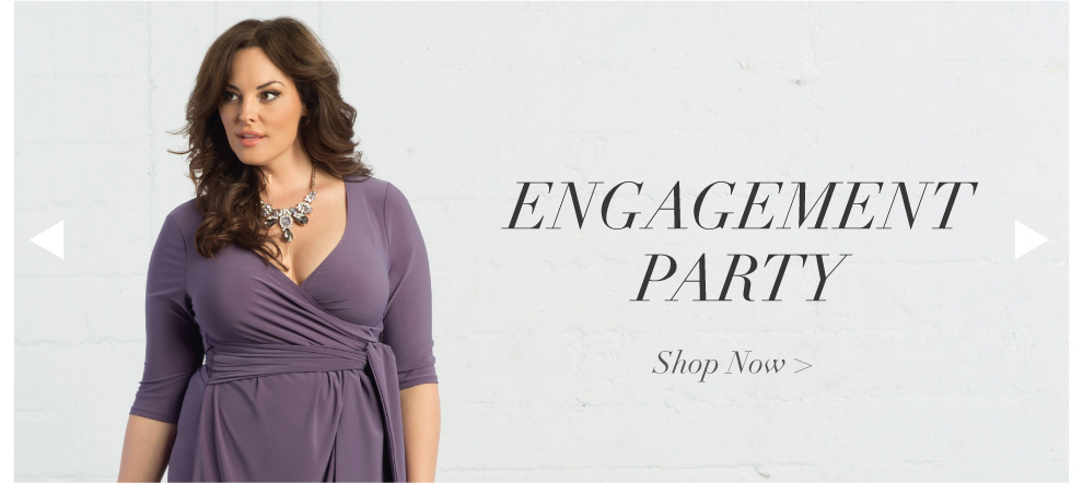 Plus Size Dresses for an Engagement Party
