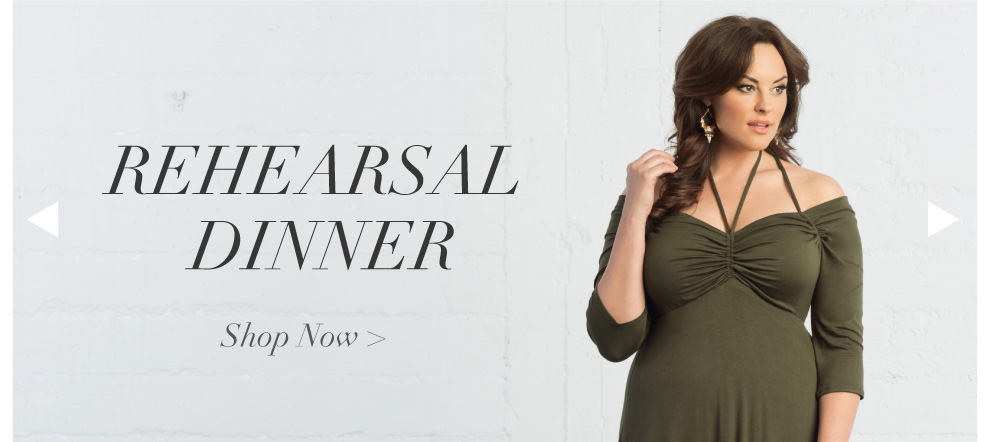 plus size dresses for a rehearsal dinner